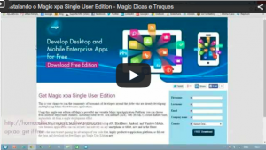 Instalando o Magic Single User Edition