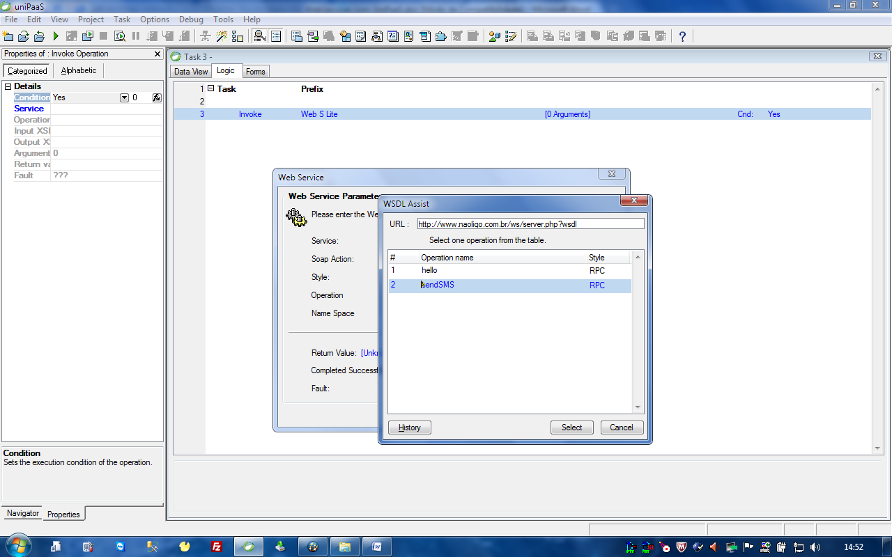 Webservices com uniPaaS_1