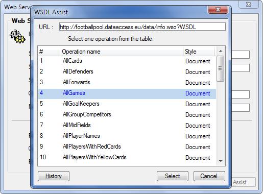 WebServices com uniPaaS