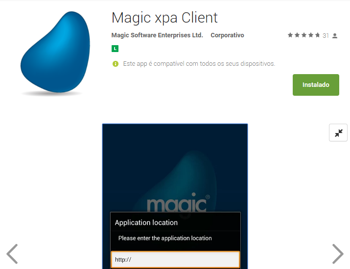Magic xpa RIA Client for Android