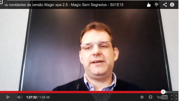 As novidades da versão Magic xpa 2.5 – Magic Sem Segredos – S01E15