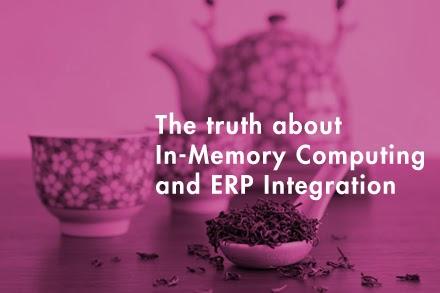 A verdade sobre a Computação In-Memory e a Integração do Sistema ERP.