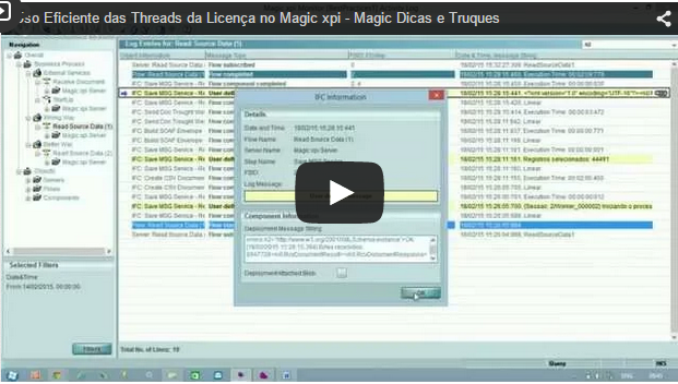 Uso Eficiente das Threads da Licença no Magic xpi