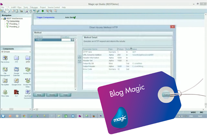 Web Services REST com o Magic xpi