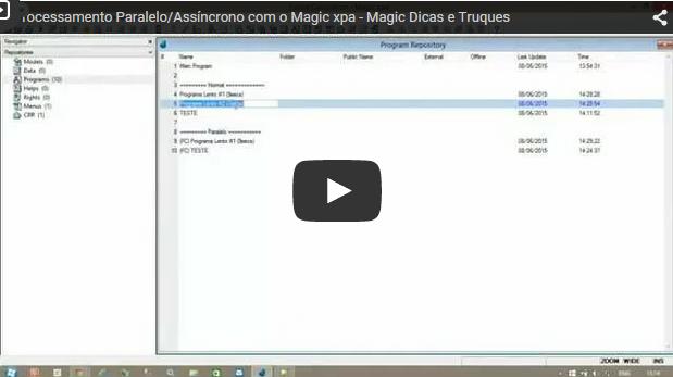 Processamento Paralelo/Assíncrono com o Magic xpa