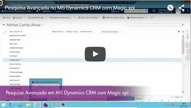 Pesquisa Avançada no MS Dynamics CRM