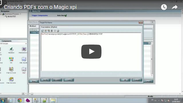 Criando PDFs com o Magic xpi