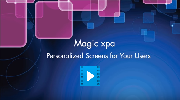 Magic xpa 3.1 Runtime Form Designer