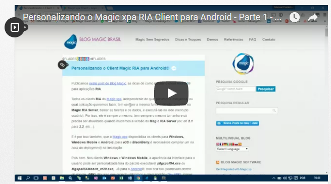Personalizando o Magic xpa RIA Client para Android – Parte 1 – Pré-requisitos