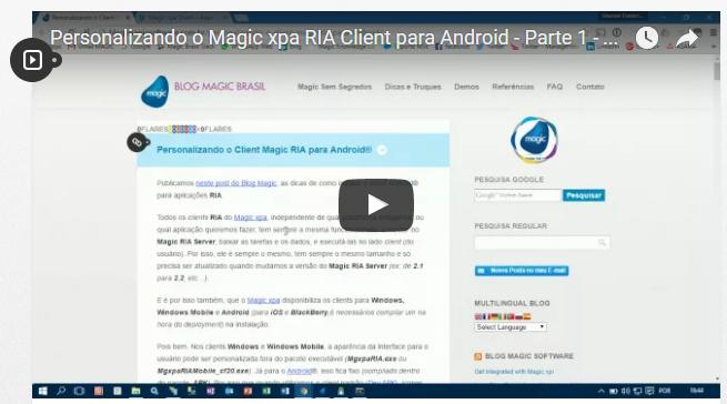 Personalizando o Magic xpa RIA Client para Android – Parte 1 – Pré-requisitos
