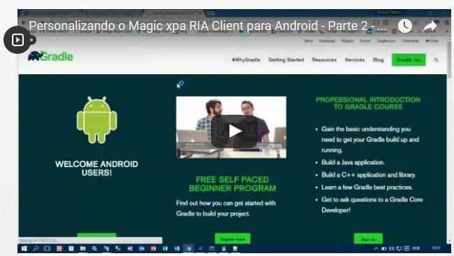Personalizando o Magic xpa RIA Client para Android – Parte 2 – Assistente de Criação